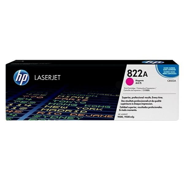 Original HP C8553A / 822A Toner magenta 25.000 Seiten