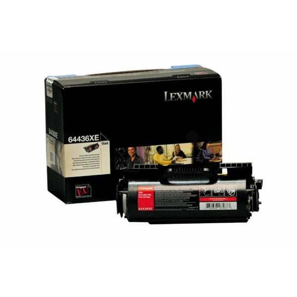Original Lexmark 64436XE Tonerkartusche schwarz 32.000 Seiten