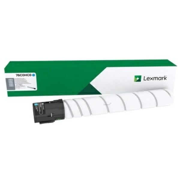 Original Lexmark 76C0HC0 Toner-Kit cyan 34.000 Seiten