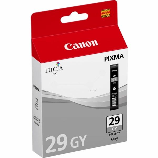 Original Canon 4871B001 / PGI-29 GY Tintenpatrone grau 36 ml 724 Seiten