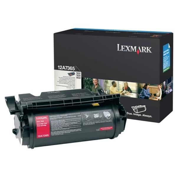 Original Lexmark 12A7365 Tonerkartusche schwarz 32.000 Seiten