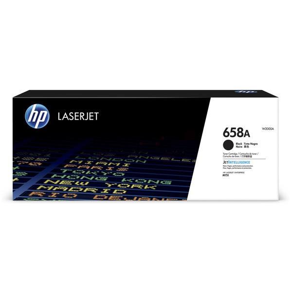 Original HP W2000A / 658A Toner schwarz 7.000 Seiten