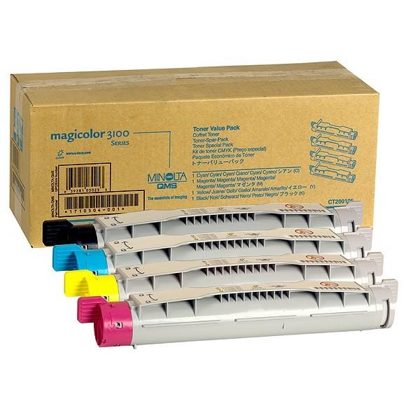 Original Konica Minolta 9960A1710504001 Toner Value-Kit (Bk,C,M,Y) 6.000 Seiten
