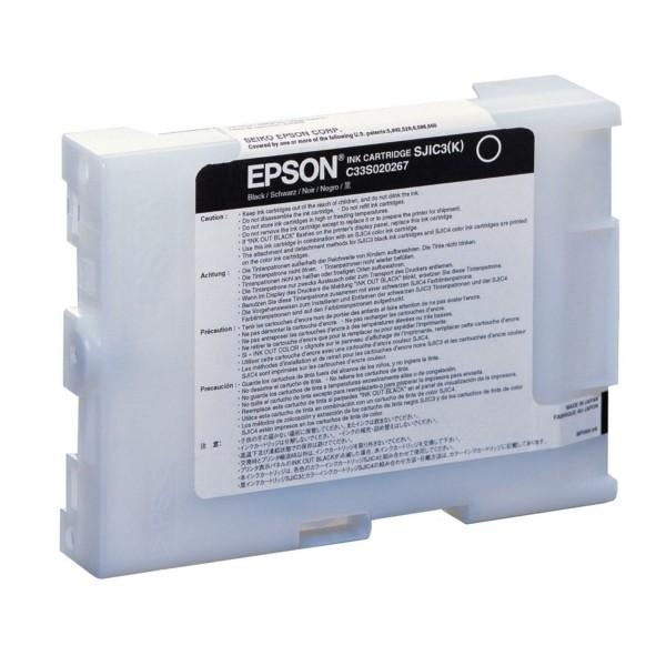 Original Epson C33S020267 / SJIC-3-K Tintenpatrone schwarz 58,6 ml 11.500.000 signs