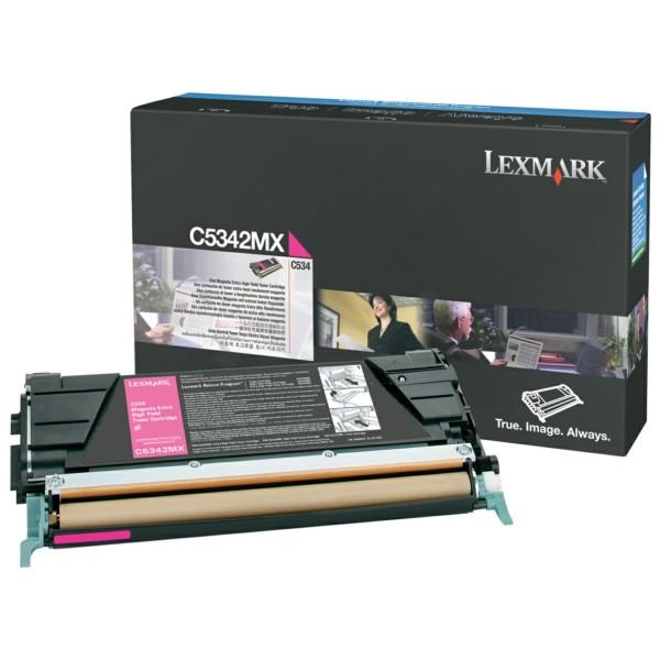 Original Lexmark C5342MX Toner-Kit magenta 7.000 Seiten