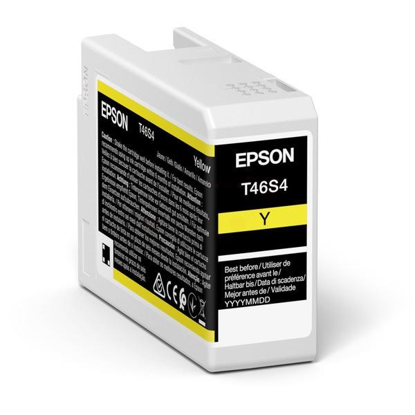Original Epson C13T46S400 / T46S4 Tintenpatrone gelb 25 ml