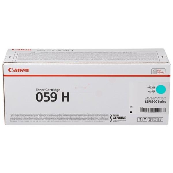 Original Canon 3626C001 / 059 H Toner cyan 13.500 Seiten