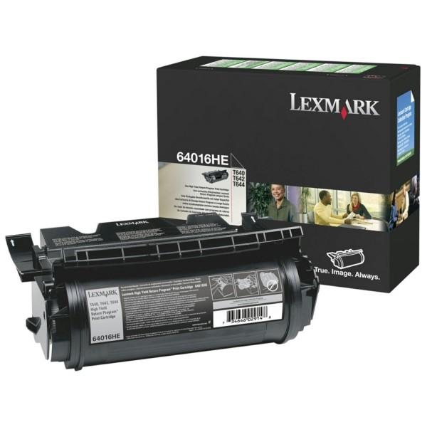Original Lexmark 64016HE Tonerkartusche schwarz return program 21.000 Seiten