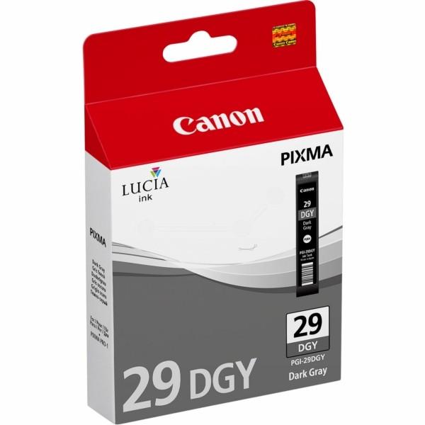 Original Canon 4870B001 / PGI-29 DGY Tintenpatrone grau dunkel 36 ml 710 Seiten