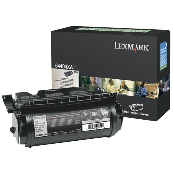 Original Lexmark 64404XE Tonerkartusche schwarz 32.000 Seiten