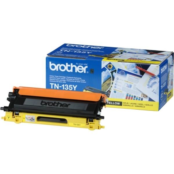 Original Brother TN135Y Toner gelb 4.000 Seiten
