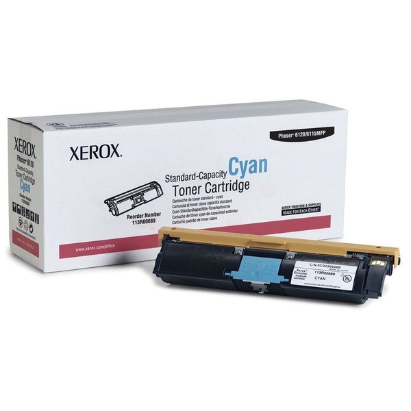 Original Xerox 113R00689 Toner cyan 1.500 Seiten