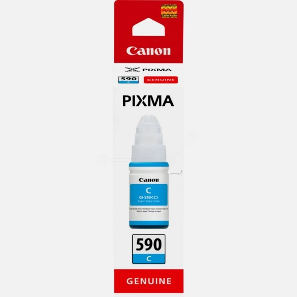 Original Canon 1604C001 / GI-590 C Tintenpatrone cyan 70 ml 7.000 Seiten