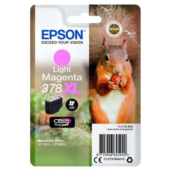 Original Epson C13T37964010 / 378XL Tintenpatrone magenta hell 10,3 ml 830 Seiten