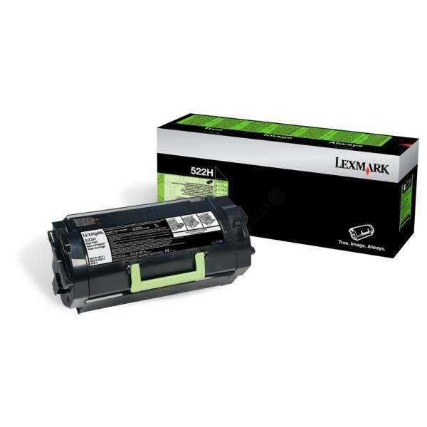Original Lexmark 52D2H00 / 522H Toner-Kit schwarz return program 25.000 Seiten