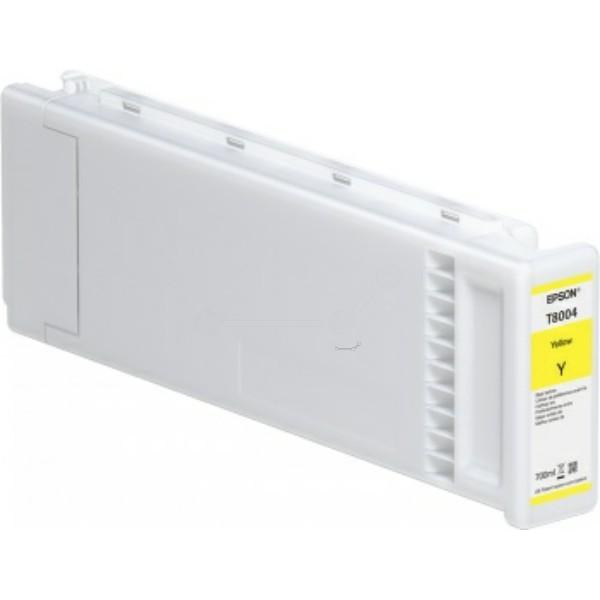 Original Epson C13T800400 / T8004 Tintenpatrone gelb 700 ml