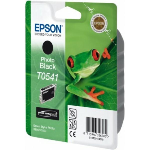 Original Epson C13T05414010 / T0541 Tintenpatrone schwarz 13 ml 550 Seiten
