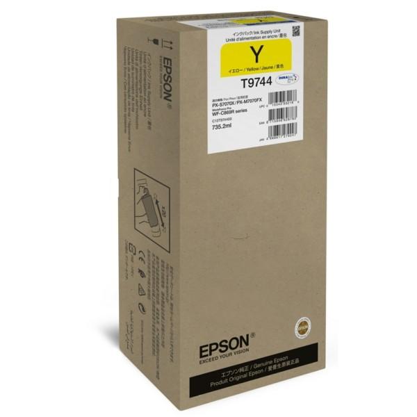 Original Epson C13T974400 / T9744 Tintenpatrone gelb 735,2 ml 84.000 Seiten