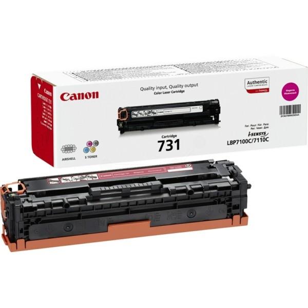 Original Canon 6270B002 / 731M Tonerkartusche magenta 1.500 Seiten