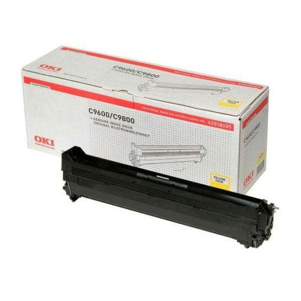 Original OKI 42918105 Drum Kit gelb 30.000 Seiten