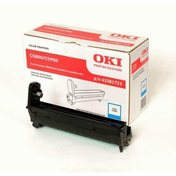 Original OKI 43381723 Drum Kit cyan 20.000 Seiten