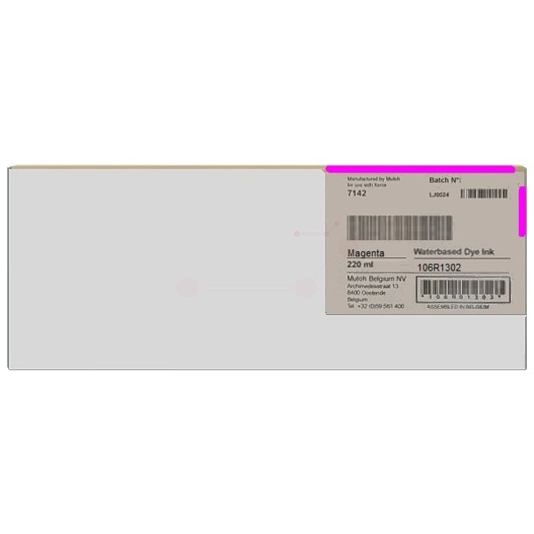 Original Xerox 106R01302 Tintenpatrone magenta 220 ml