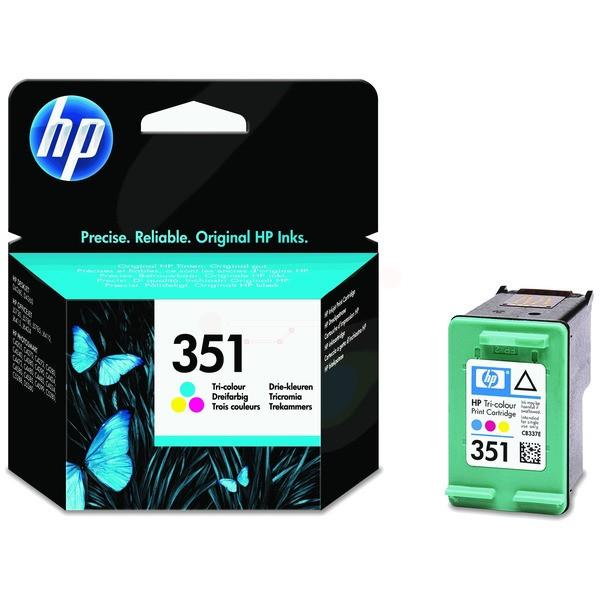 Original HP CB337EE / 351 Druckkopfpatrone color 3,5 ml 170 Seiten