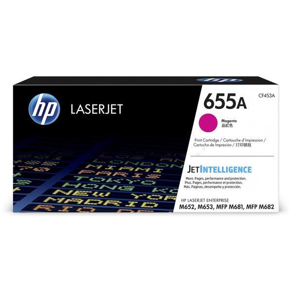 Original HP CF453A / 655A Tonerkartusche magenta 10.500 Seiten