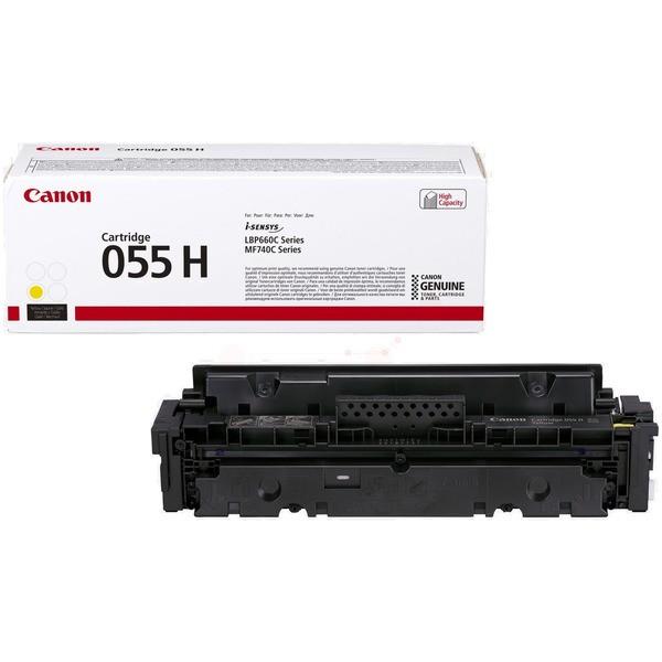 Original Canon 3017C002 / 055 H Tonerkartusche gelb 5.900 Seiten