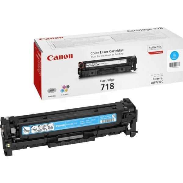Original Canon 2661B002 / 718C Tonerkartusche cyan 2.900 Seiten