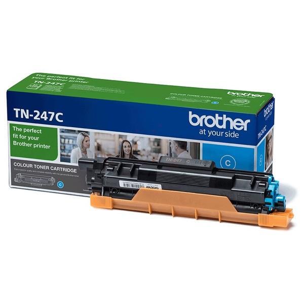 Original Brother TN247C Toner-Kit cyan 2.300 Seiten