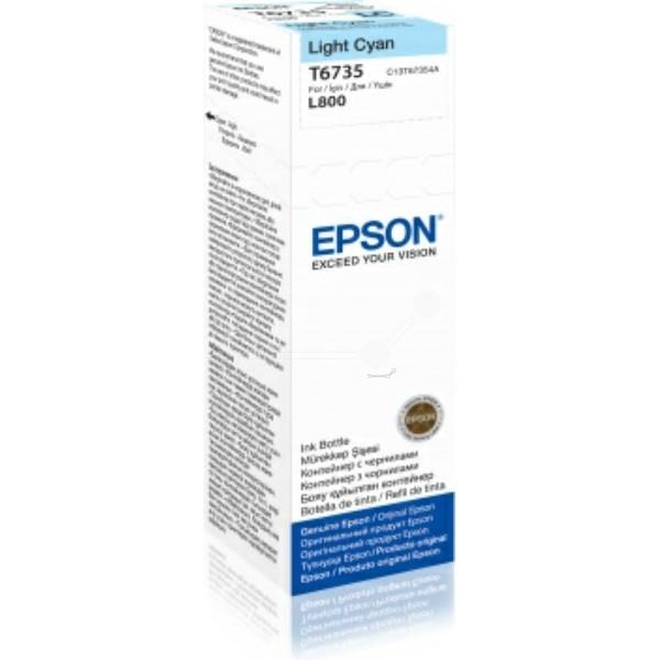Original Epson C13T67354A / T6735 Tintenpatrone cyan hell 70 ml