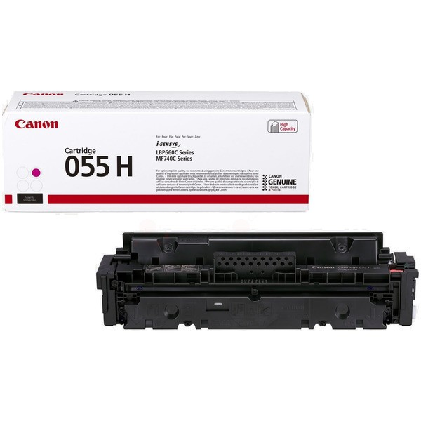 Original Canon 3018C002 / 055 H Tonerkartusche magenta 5.900 Seiten