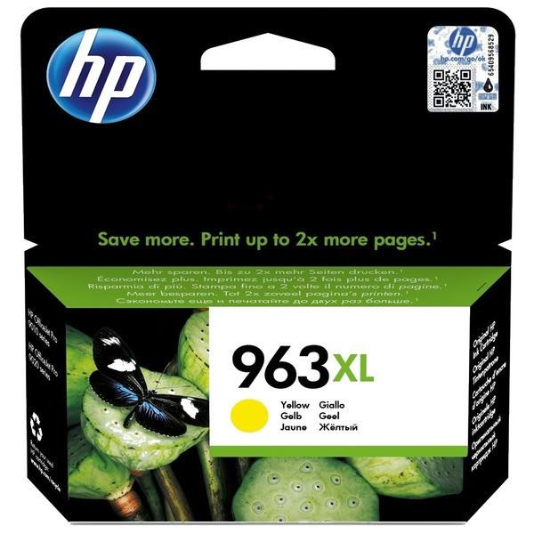 Original HP 3JA29AE / 963XL Tintenpatrone gelb 22,92 ml 1.600 Seiten
