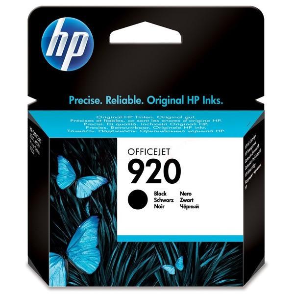 Original HP CD971AE / 920 Tintenpatrone schwarz 12 ml 420 Seiten