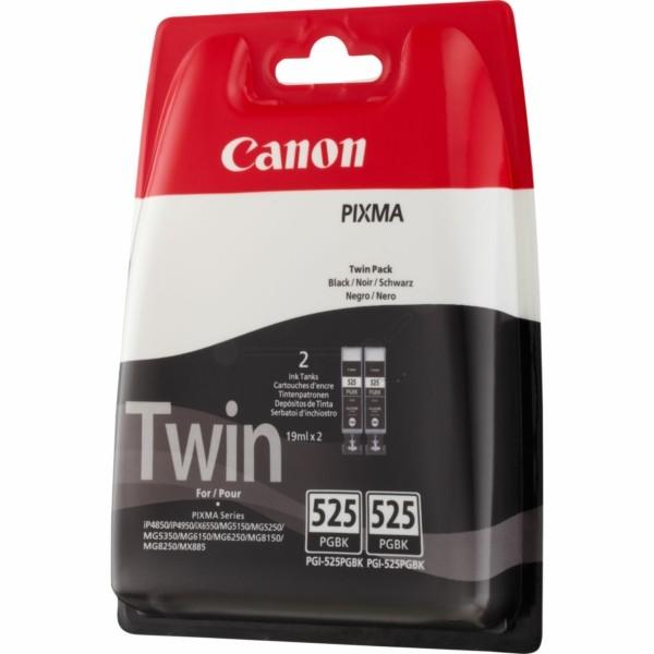 Original Canon 4529B010 / PGI-525 PGBK Tinte schwarz pigmentiert Doppelpack 19 ml 323 Seiten
