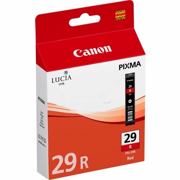 Original Canon 4878B001 / PGI-29 R Tintenpatrone rot 36 ml 2.370 Seiten
