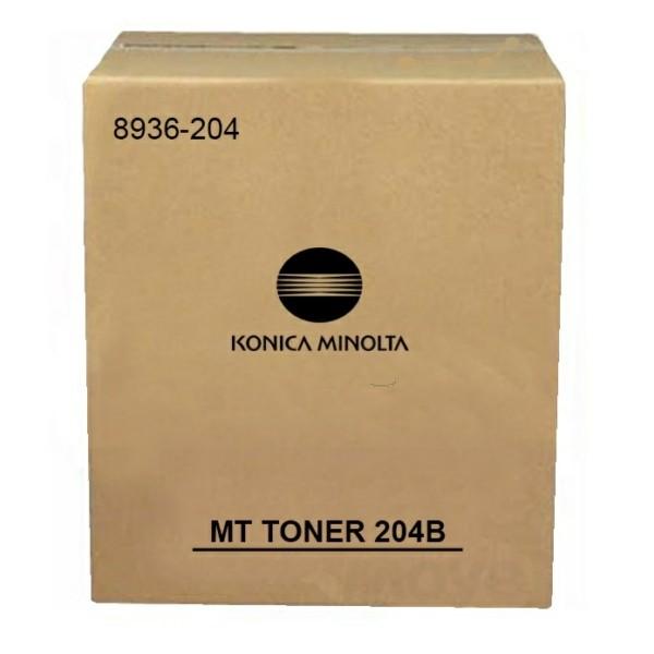 Original Konica Minolta 8936204 / 204 B Toner schwarz 23.000 Seiten