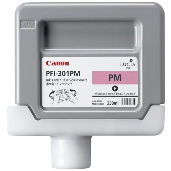 Original Canon 1491B001 / PFI-301 PM Tintenpatrone magenta hell 330 ml