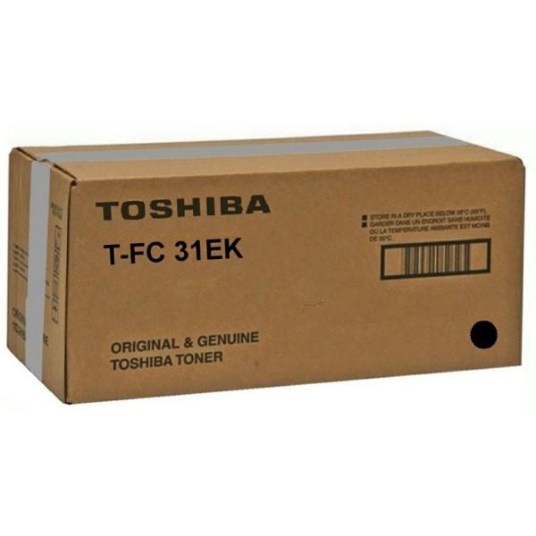 Original Toshiba 6AG00002000 / T-FC 31 EK Toner schwarz 20.600 Seiten