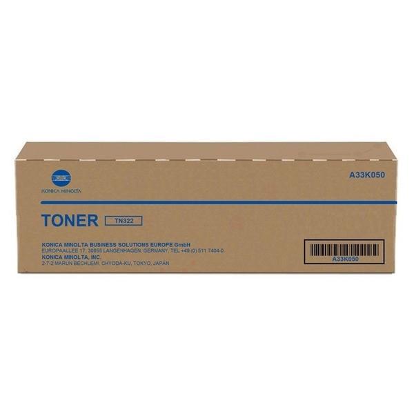 Original Konica Minolta A33K050 / TN-322 Toner-Kit 28.800 Seiten