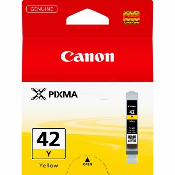 Original Canon 6387B001 / CLI-42 Y Tintenpatrone gelb 13 ml