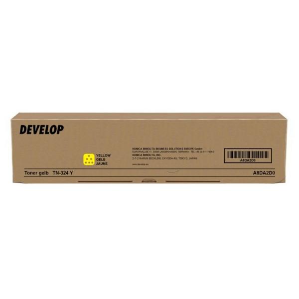 Original Develop A8DA2D0 / TN-324 Y Toner gelb 26.000 Seiten