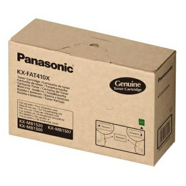 Original Panasonic KXFAT410X Tonerkartusche 2.500 Seiten