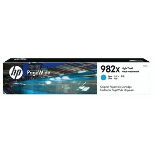 Original HP T0B27A / 982X Druckkopfpatrone cyan 16.000 Seiten