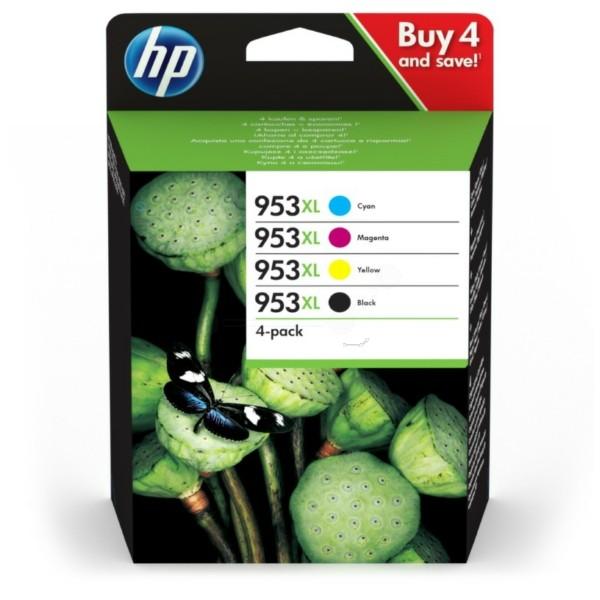 Original HP 3HZ52AE / 953XL Tintenpatrone MultiPack Bk,C,M,Y 42,5ml + 3x20,5ml