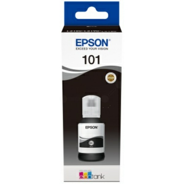 Original Epson C13T03V14A / 101 Tintentank schwarz 127 ml