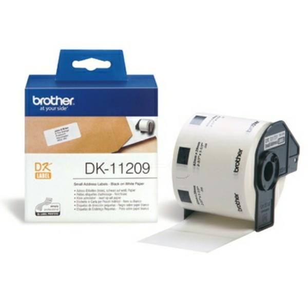 Original Brother DK11209 DirectLabel Etiketten 800