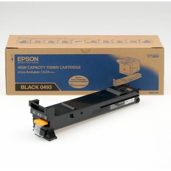 Original Epson C13S050493 / 0493 Toner schwarz 8.000 Seiten