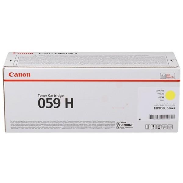 Original Canon 3624C001 / 059 H Toner gelb 13.500 Seiten